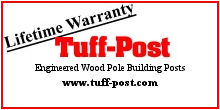 Tuff-Post, Engineered Wood Pole Building Posts